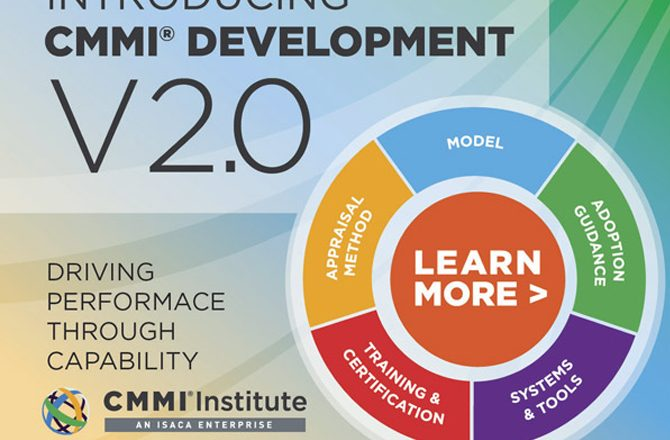 The CMMI® Institute Announces CMMI Development V2.0
