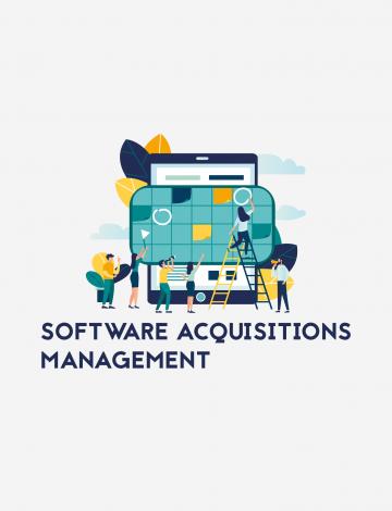 Gestão de aquisição de software